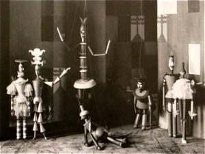 dada puppet