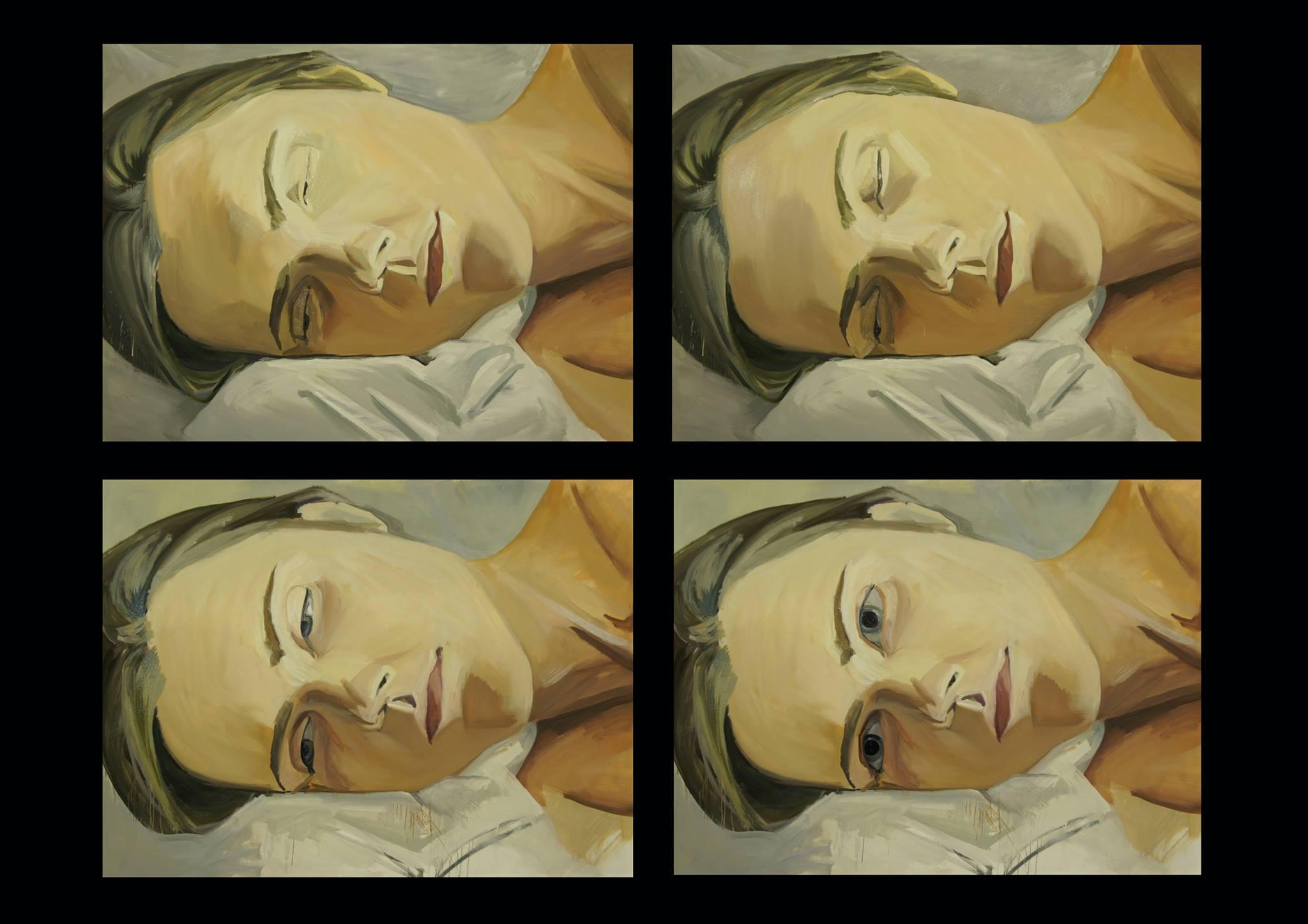 Fragment of artwork, Lesia Khomenko