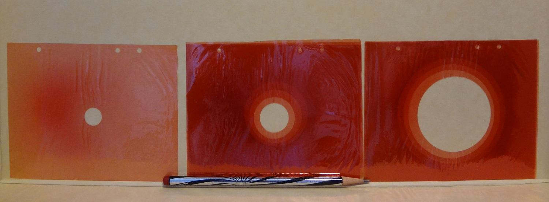 Gels from CVM's Fischinger Collection, © Fischinger Trust